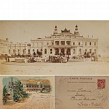 PLACE CASINO DE MONTE-CARLO ANIMEE ca.1900