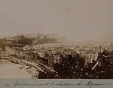 LA CONDAMINE ET LE CHATEAU DE MONACO ca.1890