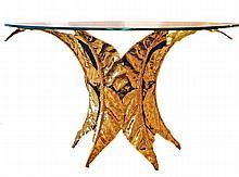 ANDRE CHERVET (1944) Rare table sculpture, 1985