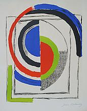 SONIA DELAUNAY (1885-1979)  Through the mirrors , c.1970