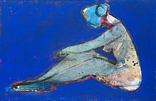 ALEXANDER JOHN MOTYL (New-York 1953)  Profile in Blue , 2002