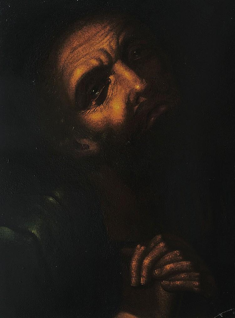 GIOVANNI BATTISTA CRESPI  Dit  IL CERANO  (1575-1633) ATTRIUE Saint en priere
