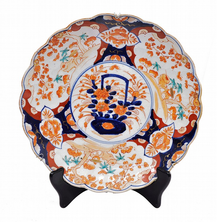 Plat imari japon 19eme siecle for Chaise 19eme siecle