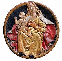 TONDO SIENNOIS DU 16ème siècle
