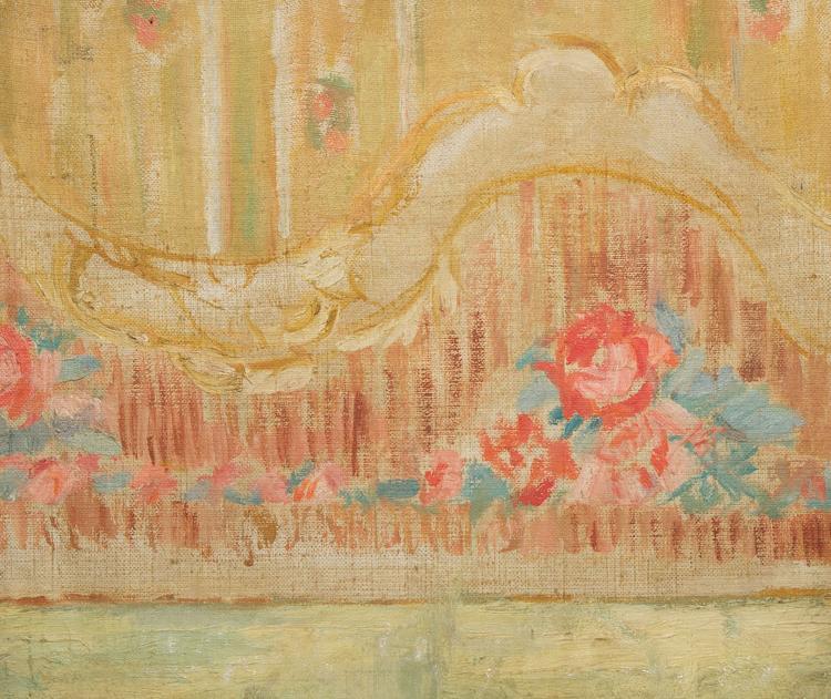 Gerta nemenova 1905 1986 projet post impressionniste de d for Decoration florale