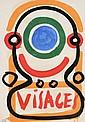 ALBERT CHUBAC (1925-2008) « Visage »