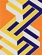 CLARYSSE CLARK (1967) Composition abstraite