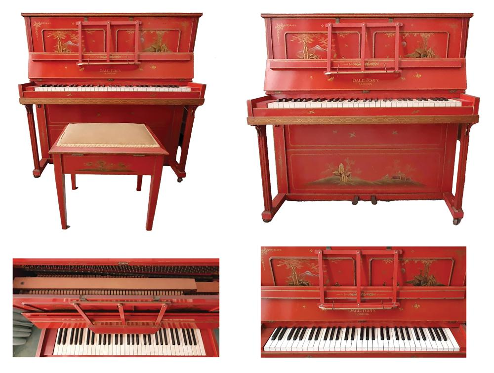 DALE FORTY, LONDON Petit piano de salon