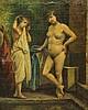 FREDERICO FARUFFINI (1831-1869), attribué La conversation au bain, Federico Faruffini, Click for value