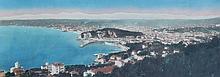JEAN GILETTA (1856-1933)  Vue de Monaco