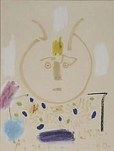 PABLO PICASSO (Malaga 1881-Mougins 1973)  « Tête de Faune »