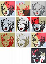 ANDY WARHOL (1928-1987)  « Golden Marilyn »