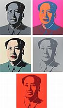 ANDY WARHOL (1928-1987)  « Mao »
