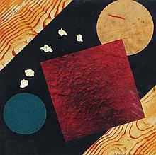 NICOLAS DIULGHEROFF (1901-1982)  Composition Spatiale, 1970
