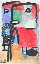 KAREL APPEL  (Amsterdam 1921-2006 Zurich)  Figure, 1970