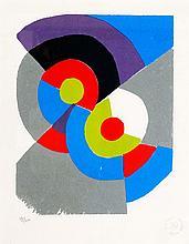 SONIA DELAUNAY (1885-1979)  Rythmes colorés