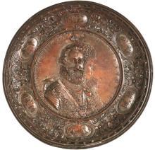 GUILLAUME DU PRE (c.1574-1647), D'APRES Henri IV, Roi de Navarre et Marie de Médicis
