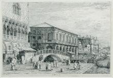 """ANTONIO CANALETTO (1697-1768) """"Le Prison V"""""""