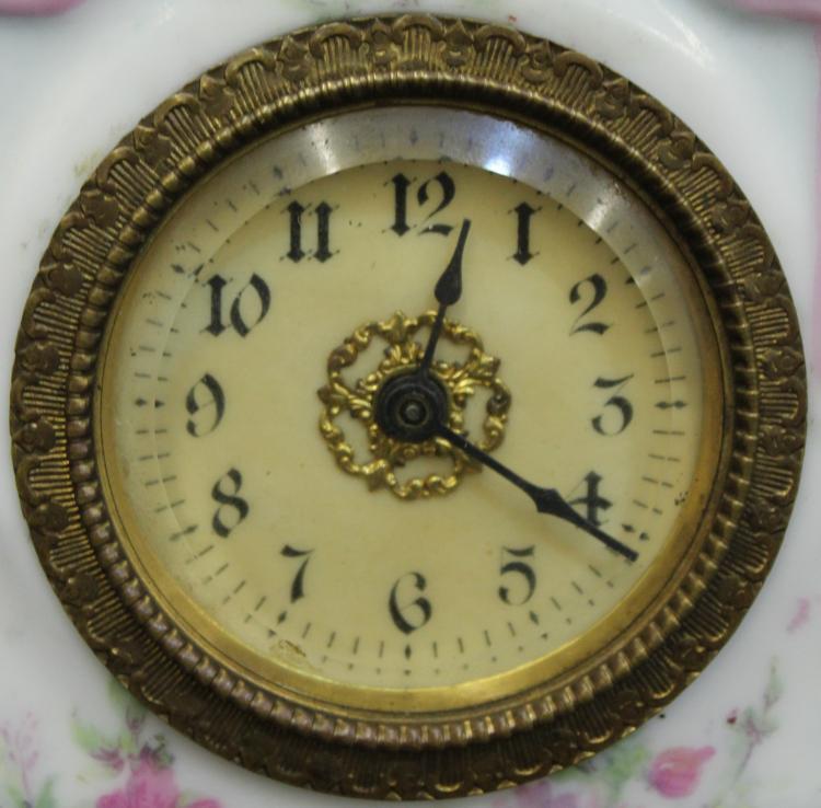 MINIATURE NEW HAVEN CLOCK LADIES NIGHTSTAND CLOCK 1905