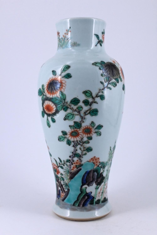 Famille Rose Porcelain Vase Republic Period