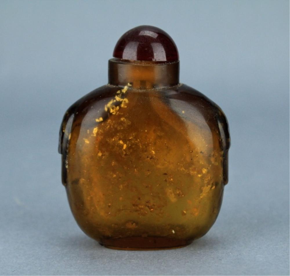 Qing Peking Glass Snuff Bottle