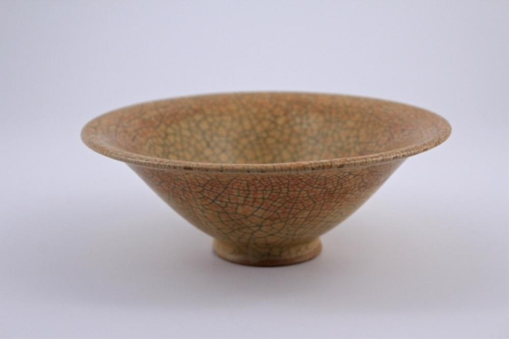 Song GeYao Porcelain Crackle Bowl