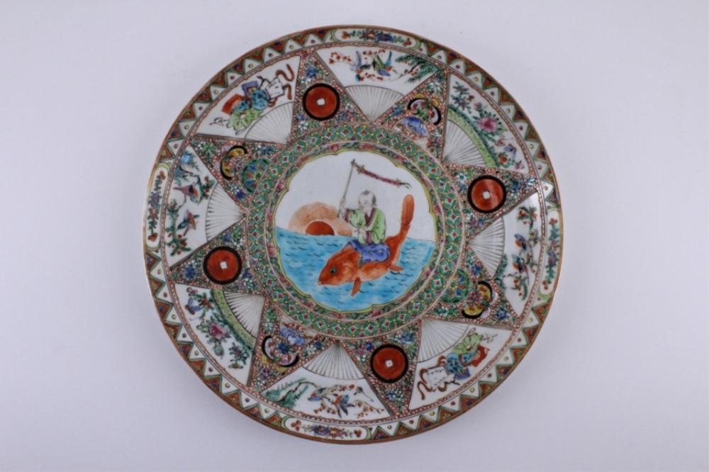 Qing Export Porcelain Plate