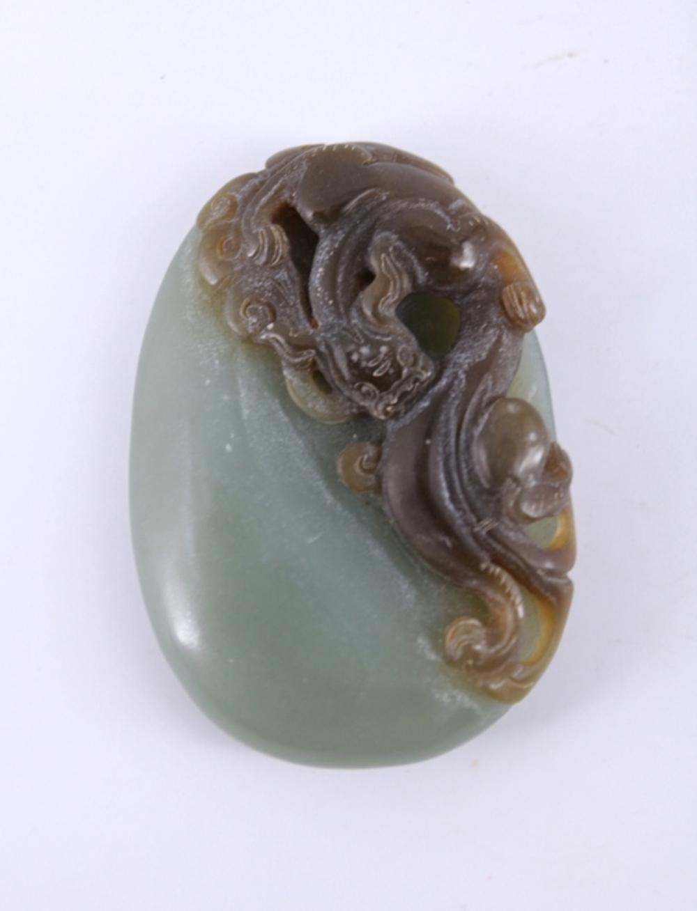 Hand Carved  Jade Figure