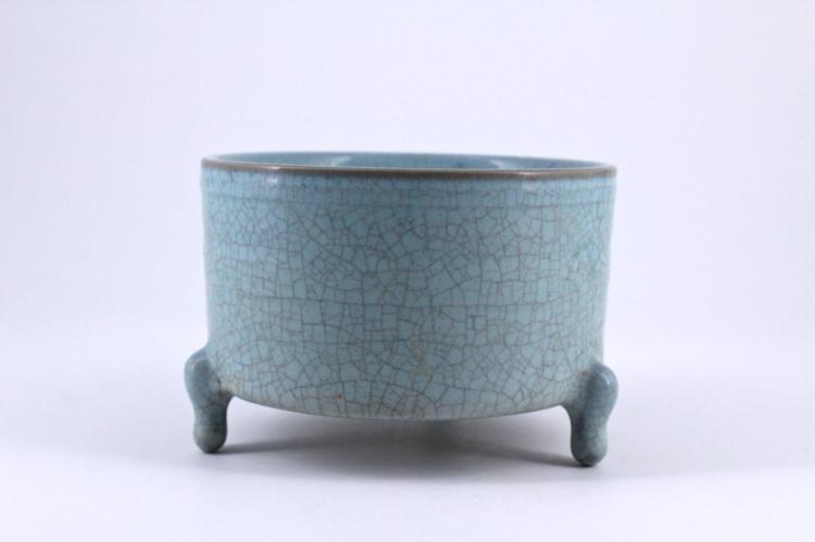 Song Ruyao Porcelain Brush Pot