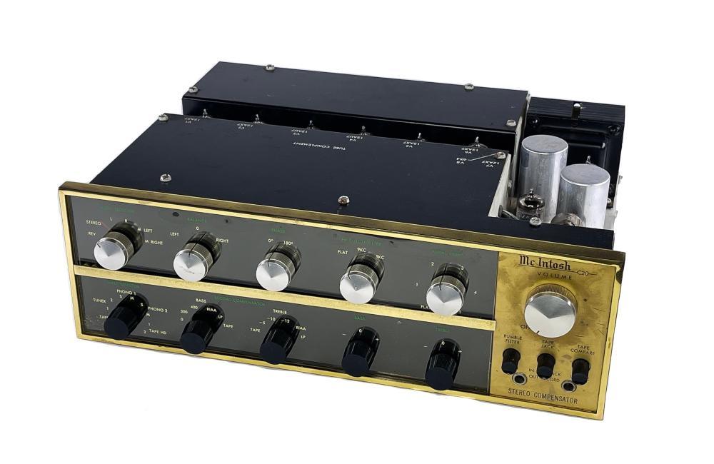 McIntosh C20 Vintage Stereo Preamplifier Preamp