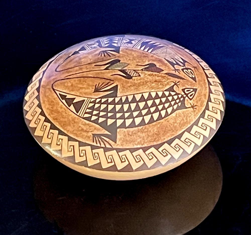 Mona Naha Hopi Tewa Pottery Seed Pot Jar Vase Native American