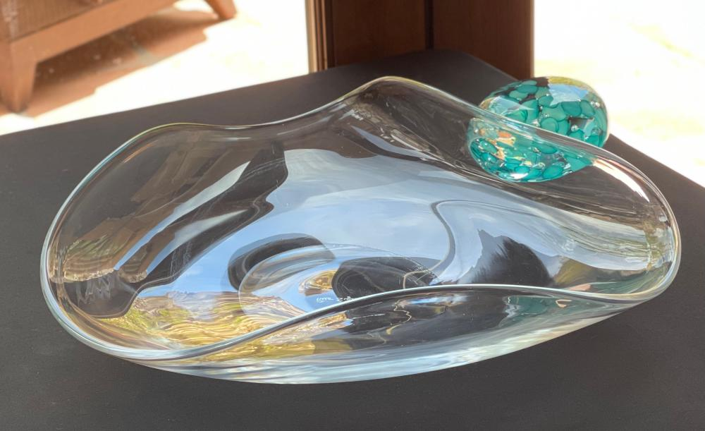 *Original* Pino Signoretto Murano Art Glass Centerpiece bowl