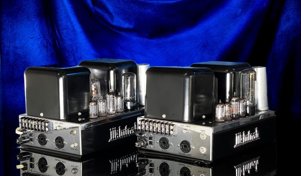McIntosh MC30 Vintage Tube Amplifier Pair AMP
