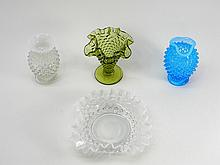 4 Piece Lot Fenton Art Glass