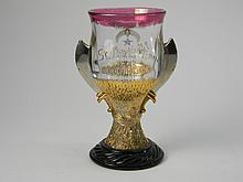 Shriner's Wine Goblet