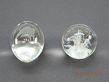 Lot of  Art Glass Paperweights Kosta