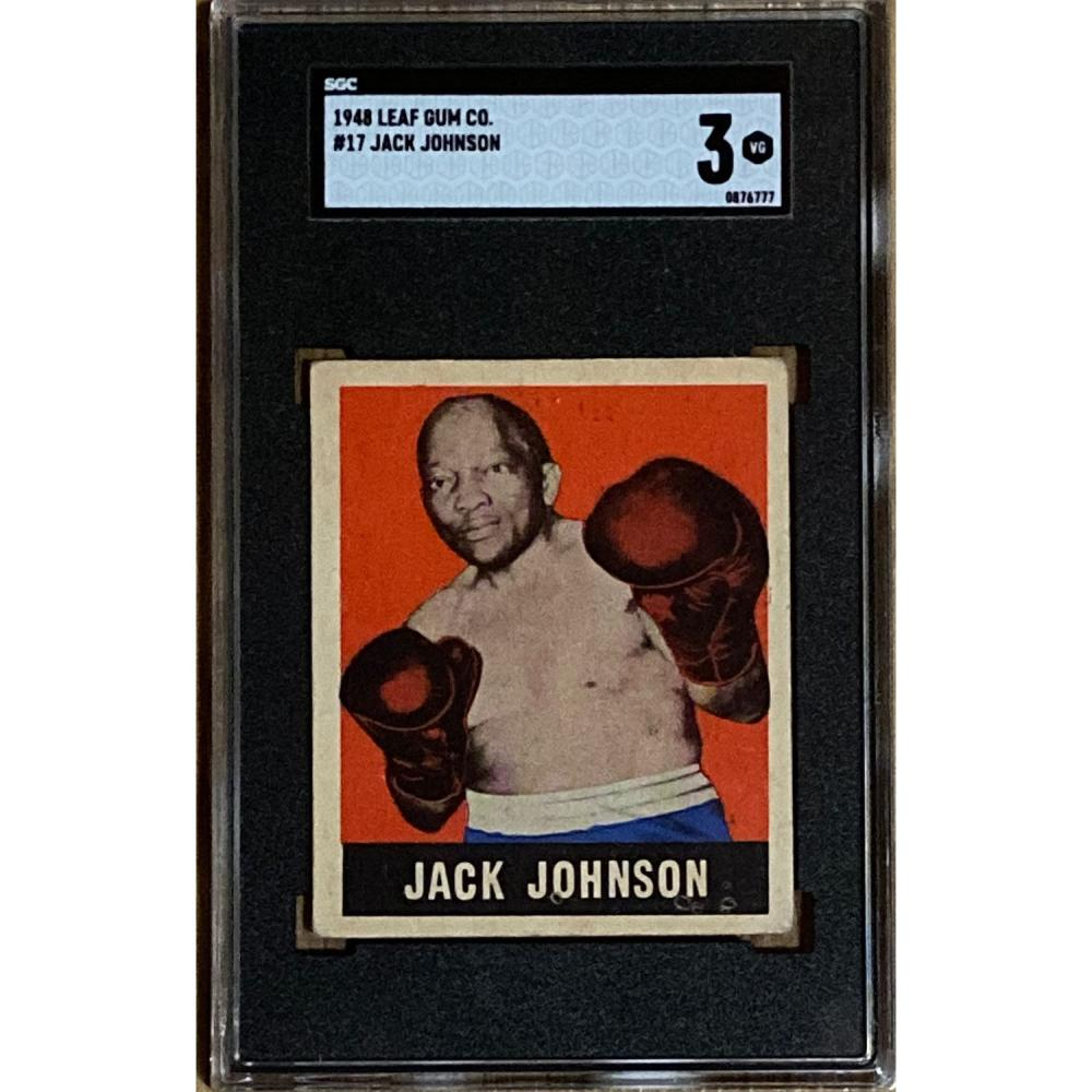 1948 Leaf Jack Johnson SGC 3