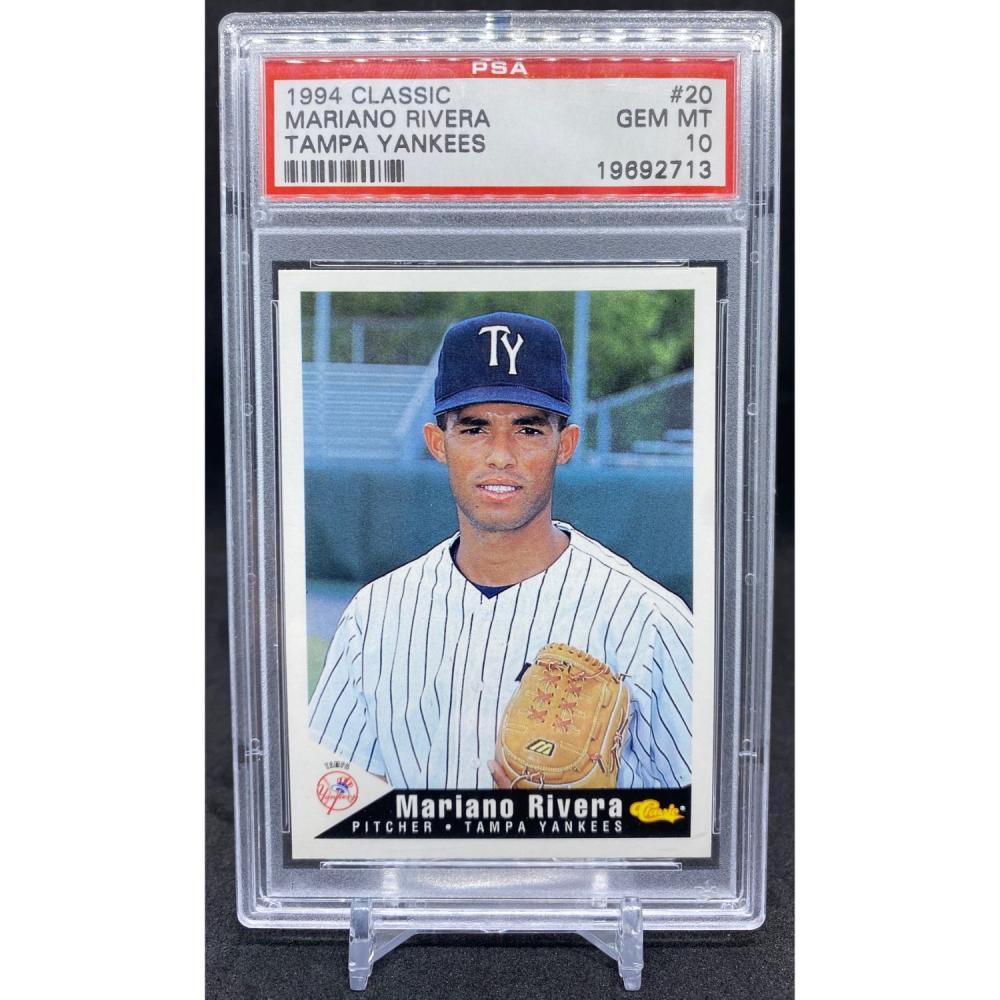 MARIANO RIVERA 1994 Classic #20 Tampa Yankees New York NYY MLB PSA 10 GEM MINT