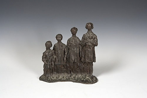 Melanie Le Brocquy HRHA (b.1919) Four Children,