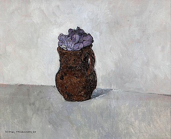 Alexey Krasnovsky (b.1945) Jacaranda Oil on