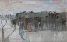 Terence P. Flanagan PRUA RHA (1929-2011)The Long Avenue, Lissadell, Co. Sligo (1960)Oil on board, 84 x 121.5cm (33 x 48'')Signed and dated 1960Exhibited: 'Painting and Sculpture by Ulster Artists', CEMA Gallery, Belfast, Spring1960; 'Paintings b
