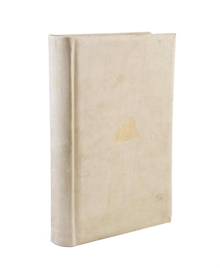 MOORE, George. Aphrodite in Aulis, signed first edition, vellum binding