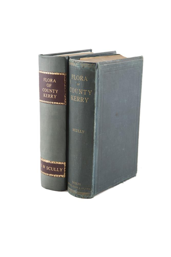 SCULLY, R.W.Flora of County Kerry, cloth, C.P. Crane's copy.
