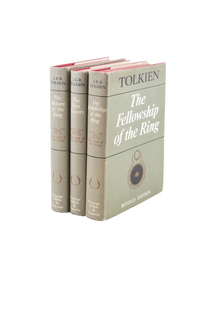 TOLKIEN, J.R.R. Lord of the Rings, 3 vols, revised edition