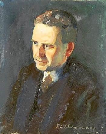 Sean O'Sullivan RHA (1906-1964) Portrait of Sean