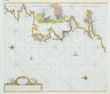 Johannes van Keulen (c. 1654-1715)A Chart of the West Coast of Ireland (1702)?Paskaart Vande West Cust van Yrland Beginninde van Klady Tot aen Blasques, Met alle zyn Diepte en Droogte Dus ver Naaukeurig oppgestelt en van veel fouten verbetert.  Ao.
