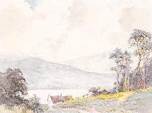 Lancelot Bayly, (1869-1952) Lough Derg, Tipperary