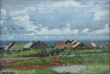 Maurice MacGonigal PRHA (1900-1974)West of Ireland SceneOil on board, 25 x 39cm (9¾ x 15¼)Signed