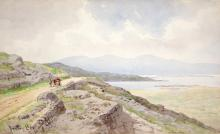 JOSEPH W. CAREY RUA (1859-1937)Bantry BayWatercolour, 23 x 37.5cmSigned, inscribed and dated 1931