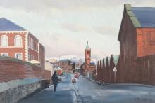 CECIL MAGUIRE RHA RUA (b.1930)Winter Morning, Ormeau (1995)Oil on board, 50 x 76cm (19¾ x 30'')Signed and dated (19); also signed and inscribed versoExhibited: 'Cecil Maguire Exhibition', The Bell Gallery, April 1995.Literature: 'UTV Art Colle